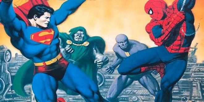 Những lần hợp tác khiến fan đứng ngồi không yên giữa cặp đối thủ không đội trời chung DC - Marvel - Ảnh 9.