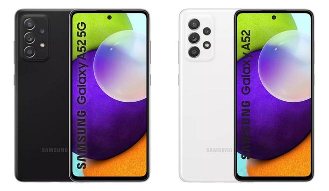 Galaxy A52 lộ ảnh chính thức: Có bản 4G/5G, chip Snapdragon 720G/750G, giá gần 10 triệu đồng - Ảnh 1.