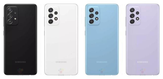 Galaxy A52 lộ ảnh chính thức: Có bản 4G/5G, chip Snapdragon 720G/750G, giá gần 10 triệu đồng - Ảnh 2.