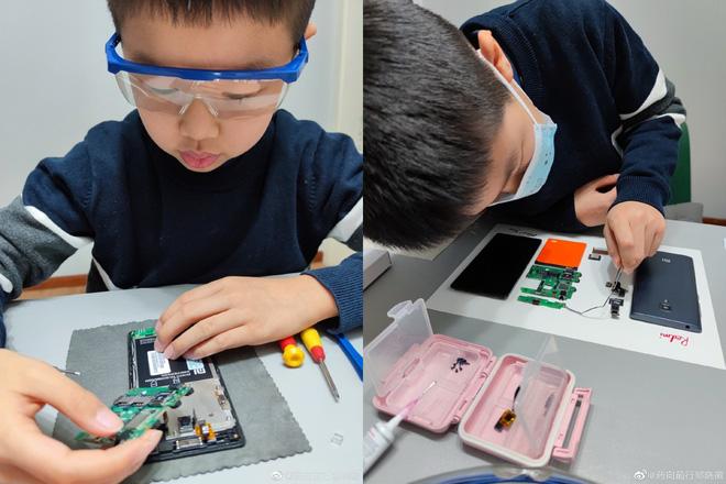 CEO Xiaomi ngưỡng mộ cậu bé 9 tuổi tự tay tháo rời Redmi 1, đóng khung thành tác phẩm nghệ thuật - Ảnh 2.