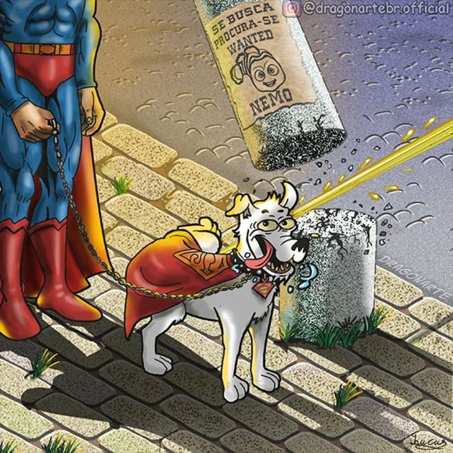 [Chùm tranh vui] Hóa ra khi không truy bắt tội phạm, các siêu anh hùng cũng xàm xí và lầy lội thế này đây - Ảnh 1.