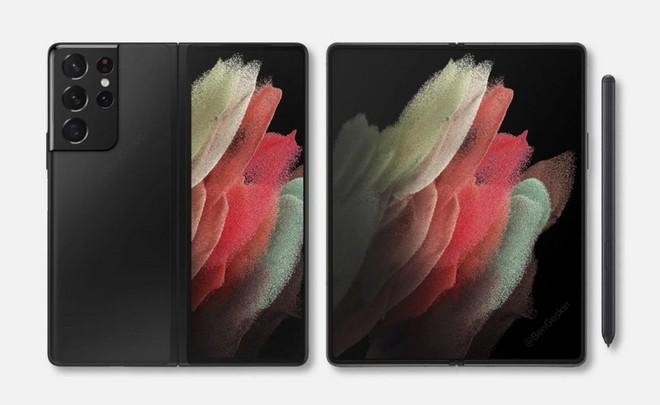 Galaxy Z Fold 3 sẽ là chiếc smartphone Galaxy đầu tiên của Samsung có camera ẩn dưới màn hình - Ảnh 1.