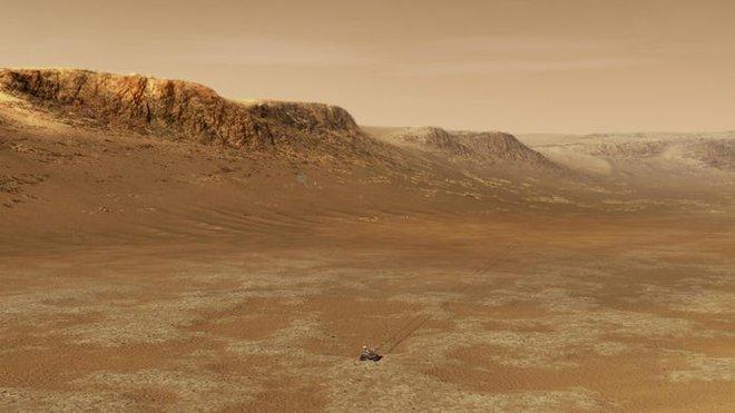 Tàu thám hiểm NASA vừa hạ cánh xuống sao Hỏa và đây là những hình ảnh đầu tiên được gửi về - Ảnh 5.