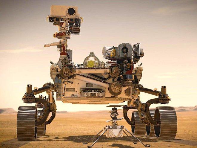 Tàu thám hiểm NASA vừa hạ cánh xuống sao Hỏa và đây là những hình ảnh đầu tiên được gửi về - Ảnh 3.