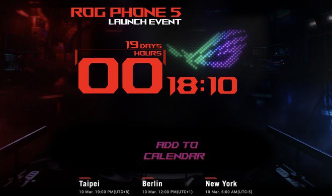 ASUS nhảy cóc, sẽ ra mắt ROG Phone 5 vào ngày 10/3 thay vì ROG Phone 4 - Ảnh 1.