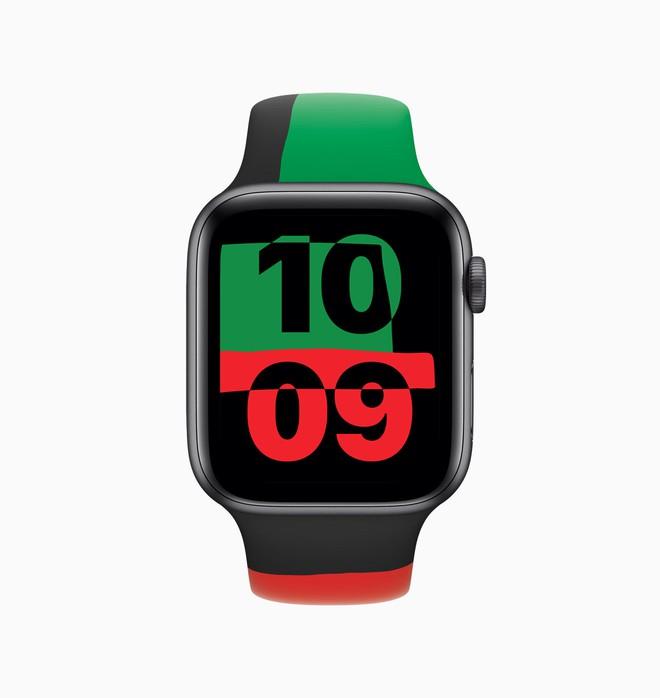 Apple Watch Series 6 phiên bản chống phân biệt chủng tộc ra mắt, giá từ 399 USD - Ảnh 1.