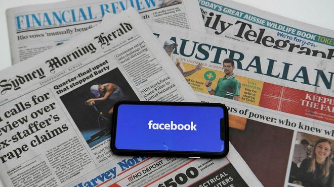 Facebook thật nguy hiểm: Trước ngày tiêm chủng COVID-19 tại Úc, báo chí chính thống thì bị chặn, tin giả chống vắc-xin thì còn đó - Ảnh 1.