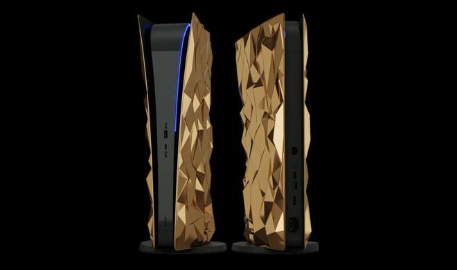 Phát thèm với phiên bản PlayStation 5 mạ vàng 18 cara trị giá tới 500 ngàn USD của Caviar - Ảnh 4.
