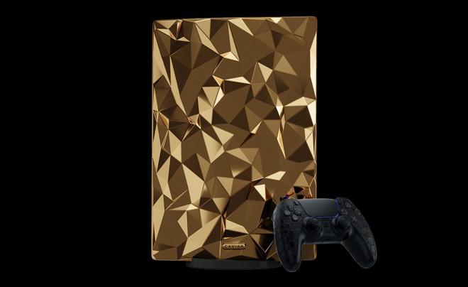 Phát thèm với phiên bản PlayStation 5 mạ vàng 18 cara trị giá tới 500 ngàn USD của Caviar - Ảnh 3.