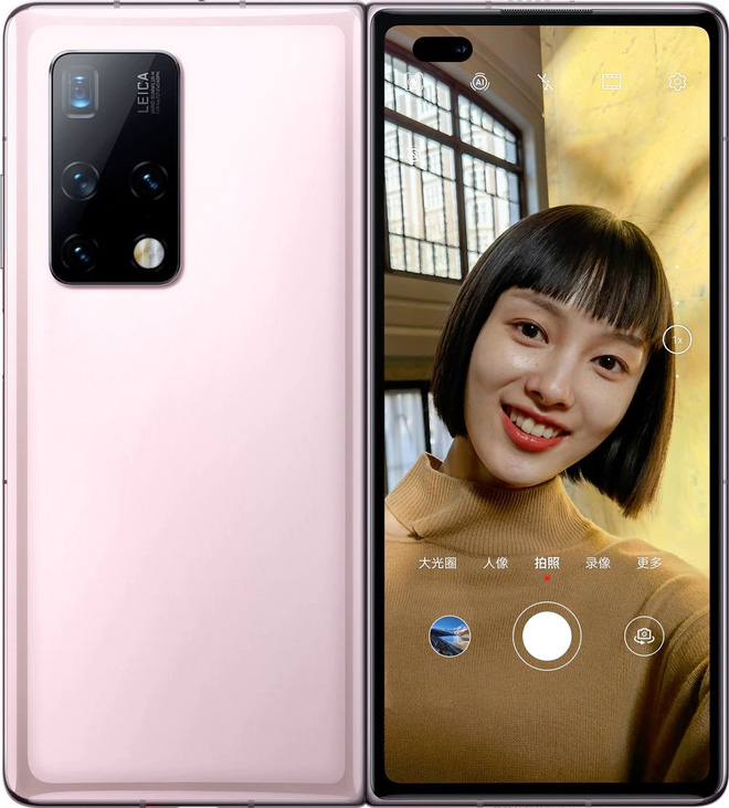 Huawei Mate X2 ra mắt: Bắt chước thiết kế của Z Fold2 nhưng giá còn cao hơn - Ảnh 6.