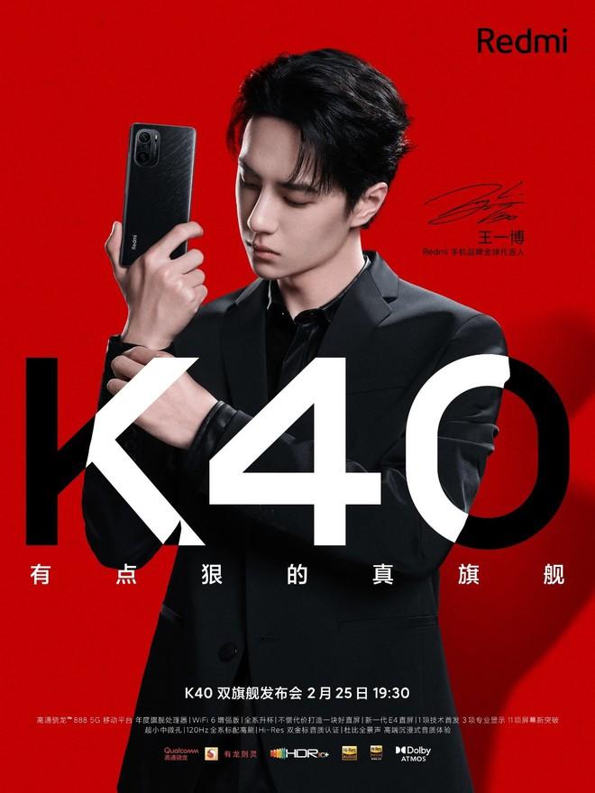Redmi K40: Thiết kế giống Mi 11, bản Pro chạy chip Snapdragon 888, nâng cấp loa, pin 4520mAh, ra mắt ngày 25/2 - Ảnh 1.