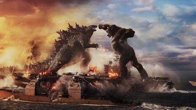 """Nhà sản xuất Godzilla vs Kong tiết lộ lý do 2 con quái vật lại bất ngờ """"choảng"""" nhau sứt đầu mẻ trán, úp mở về trùm cuối của phim - Ảnh 1."""
