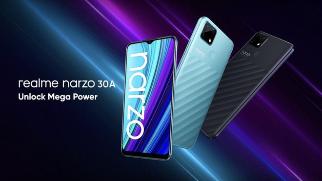 Realme ra mắt Narzo 30 series: Màn hình 120Hz, hỗ trợ 5G, pin khủng, giá từ 3.2 triệu đồng - Ảnh 4.