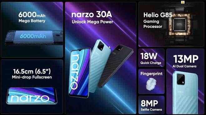 Realme ra mắt Narzo 30 series: Màn hình 120Hz, hỗ trợ 5G, pin khủng, giá từ 3.2 triệu đồng - Ảnh 5.