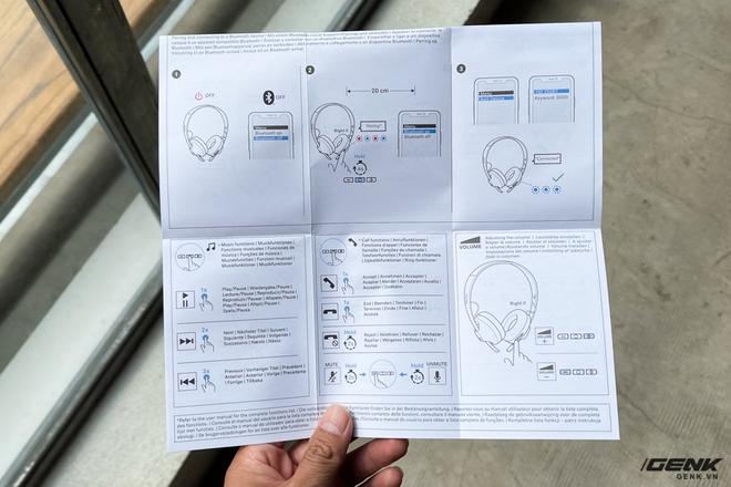 Mở hộp tai nghe không dây Sennheiser HD 250BT: Thiết kế nhẹ nhàng, chất âm phù hợp người chơi hệ K-Pop hoặc EDM, thời lượng sử dụng 25 giờ - Ảnh 9.