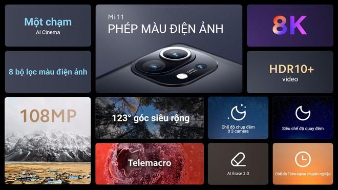 Xiaomi Mi 11 ra mắt tại VN với giá 21.99 triệu đồng, tặng kèm sạc nhanh và quà 7 triệu - Ảnh 2.