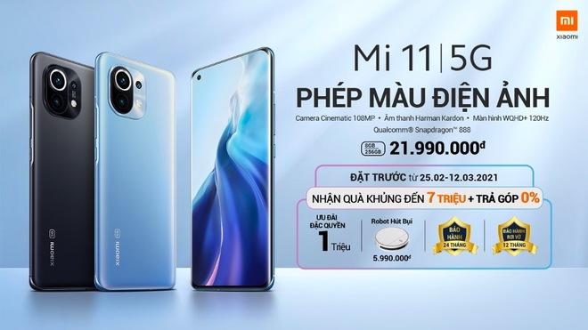 Xiaomi Mi 11 ra mắt tại VN với giá 21.99 triệu đồng, tặng kèm sạc nhanh và quà 7 triệu - Ảnh 10.