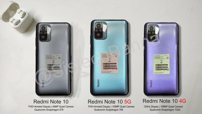 Đây là Redmi Note 10: Thiết kế giống Mi 10T, màn hình AMOLED, Snapdragon 768, ra mắt ngày 4/3 - Ảnh 4.
