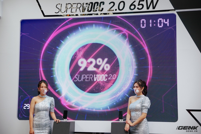 OPPO Reno 5 5G officially launched in Vietnam: Supporting the latest 5G network infrastructure, equipped with a more powerful processor than the 4G version, with more 65W SuperVOOC 2.0 fast charger - Photo 7.
