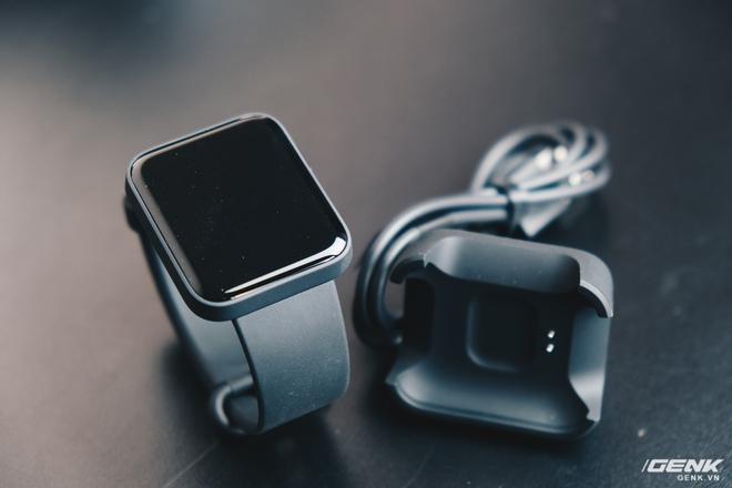 Trên tay Xiaomi Mi Watch Lite: Smartwatch hỗ trợ GPS giá rẻ, tiếng Việt hỗ trợ đầy đủ - Ảnh 4.