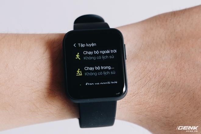 Trên tay Xiaomi Mi Watch Lite: Smartwatch hỗ trợ GPS giá rẻ, tiếng Việt hỗ trợ đầy đủ - Ảnh 14.