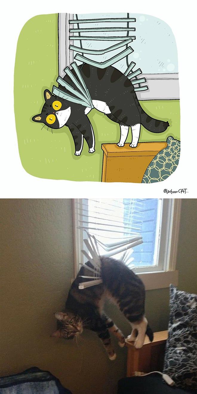 [Chùm ảnh vui] Khi ảnh meme của các boss mèo được vẽ lại siêu đáng yêu khiến ai xem xong cũng phải mỉm cười - Ảnh 22.