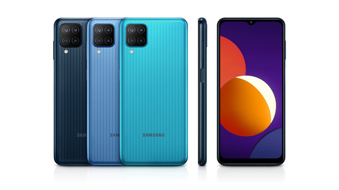 Samsung âm thầm ra mắt Galaxy M12: Exynos 850, 4 camera sau 48MP, pin 6000mAh - Ảnh 1.