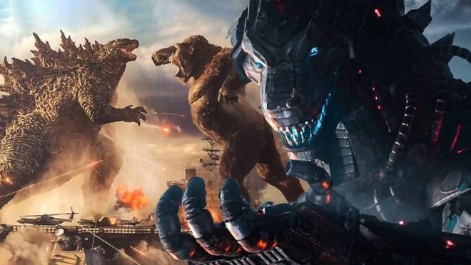 """Lép vế thế là đủ rồi, cuối cùng Godzilla cũng được đấm """"tòe mỏ"""" Kong trong trailer mới - Ảnh 2."""