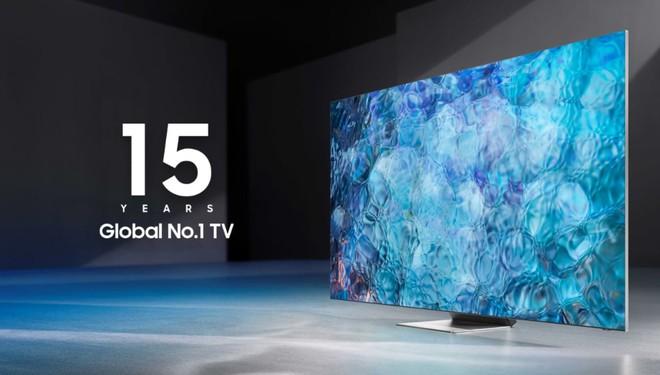 Samsung là nhà sản xuất TV đạt top đầu về doanh số trong 15 năm liên tiếp - Ảnh 1.