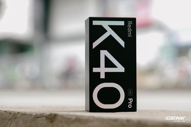 Trên tay Redmi K40 Pro tại VN: Phiên bản giá rẻ của Mi 11, chip Snapdragon 888, giá 10.7 triệu đồng - Ảnh 1.