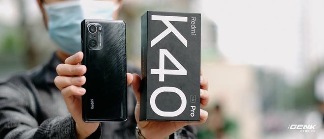 Trên tay Redmi K40 Pro tại VN: Phiên bản giá rẻ của Mi 11, chip Snapdragon 888, giá 10.7 triệu đồng - Ảnh 16.