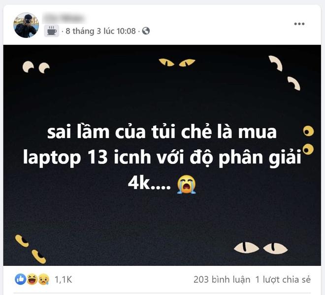 Sai lầm của tuổi trẻ là mua laptop 13 inch với độ phân giải 4K - Ảnh 1.