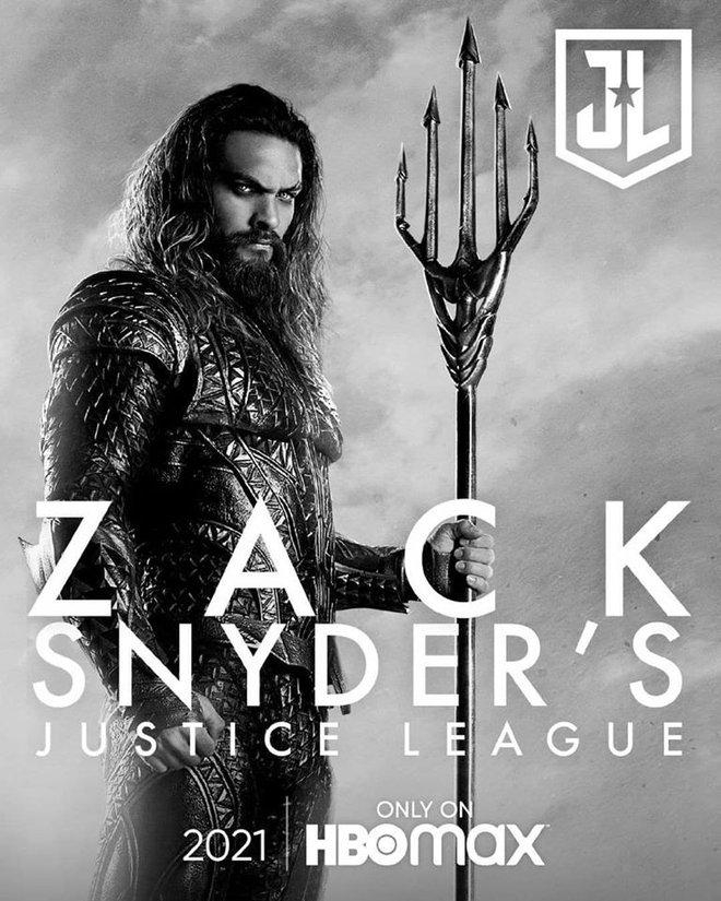 Justice League Snyder Cut ra mắt hàng loạt teaser mới, dàn nhân vật chính ai cũng được chiếm spotlight một lần - Ảnh 7.