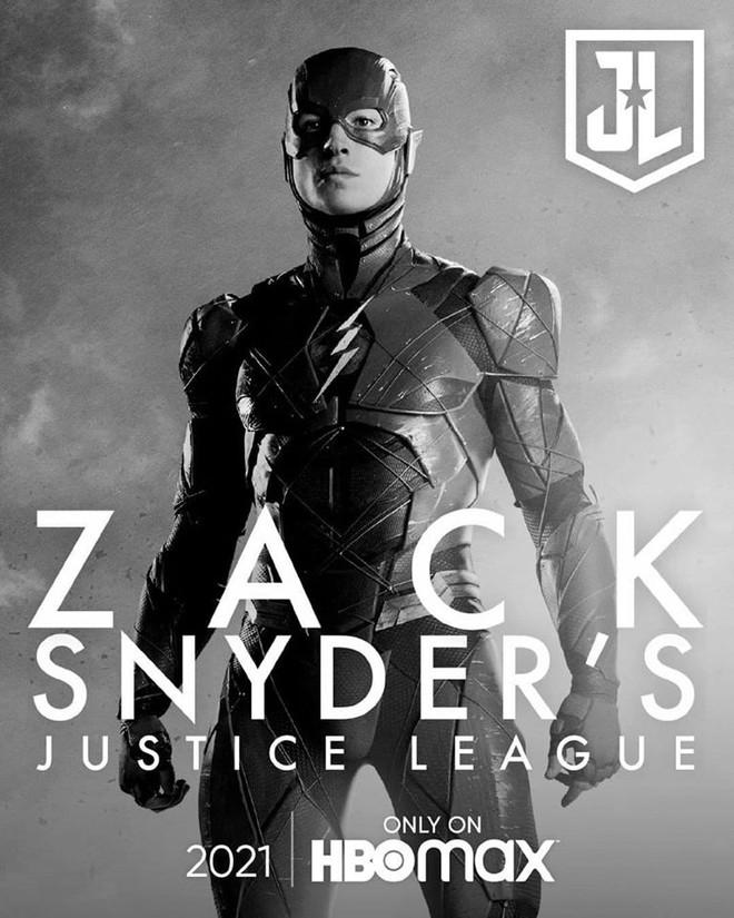 Justice League Snyder Cut ra mắt hàng loạt teaser mới, dàn nhân vật chính ai cũng được chiếm spotlight một lần - Ảnh 5.