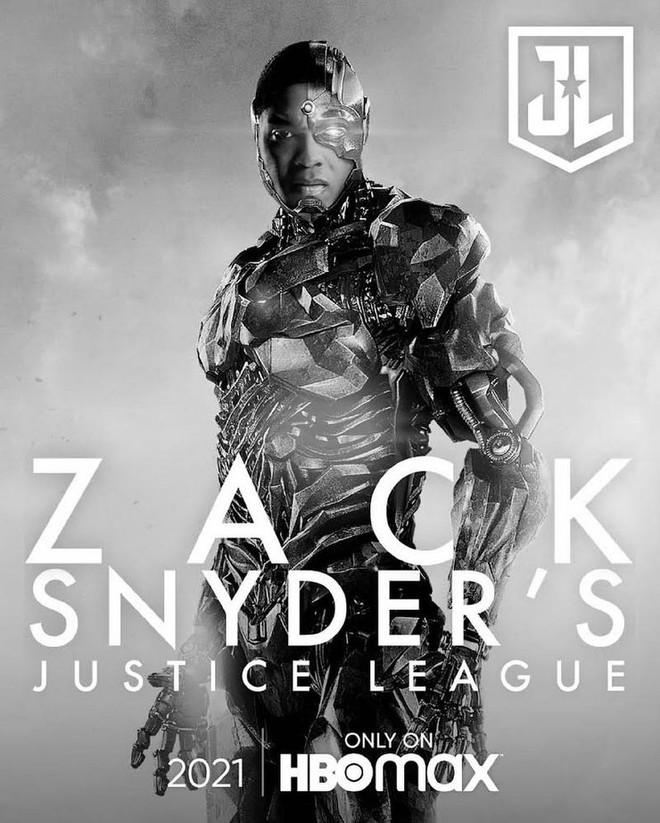 Justice League Snyder Cut ra mắt hàng loạt teaser mới, dàn nhân vật chính ai cũng được chiếm spotlight một lần - Ảnh 6.