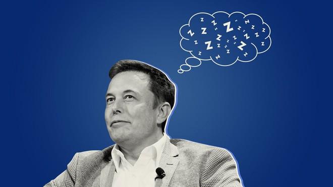 Bận rộn điều hành cùng lúc 3 công ty, vì sao Elon Musk vẫn quyết dành 6 tiếng một ngày để ngủ? - Ảnh 1.