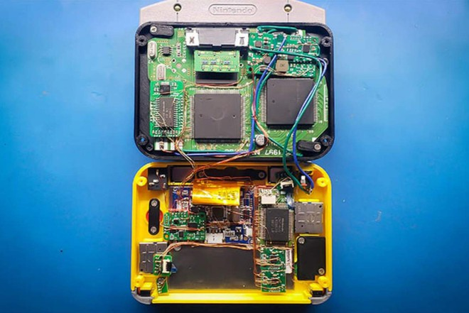 Game thủ chế máy chơi game Nintendo 64 thành phiên bản siêu nhỏ gọn, vừa in trong lòng bàn tay - Ảnh 4.