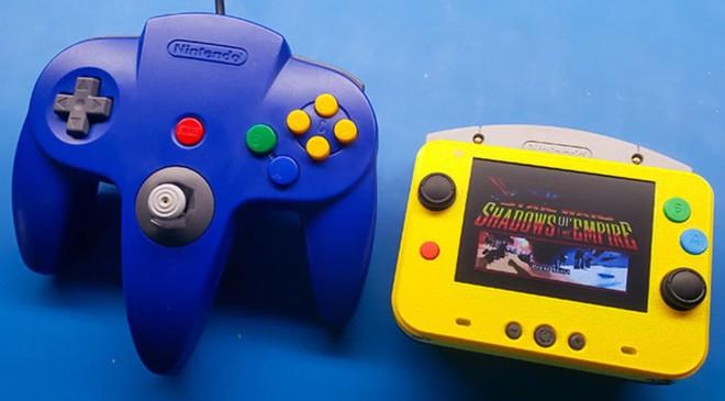 Game thủ chế máy chơi game Nintendo 64 thành phiên bản siêu nhỏ gọn, vừa in trong lòng bàn tay - Ảnh 3.
