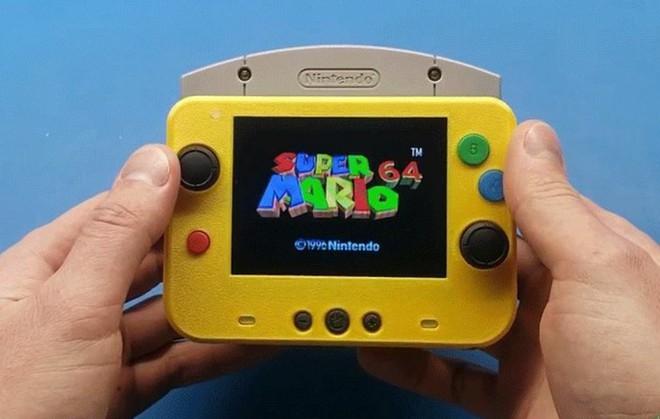 Game thủ chế máy chơi game Nintendo 64 thành phiên bản siêu nhỏ gọn, vừa in trong lòng bàn tay - Ảnh 2.