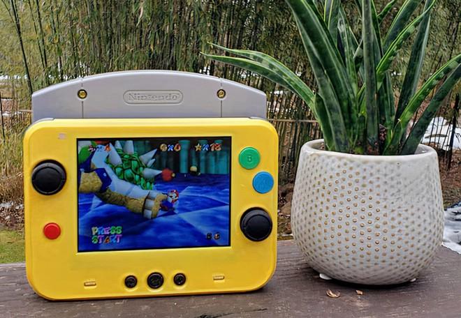 Game thủ chế máy chơi game Nintendo 64 thành phiên bản siêu nhỏ gọn, vừa in trong lòng bàn tay - Ảnh 5.