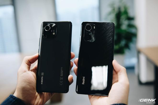 So sánh Redmi K40 Pro và Xiaomi Mi 11: Bộ đôi smartphone Snapdragon 888, màn hình 120Hz giá rẻ - Ảnh 2.