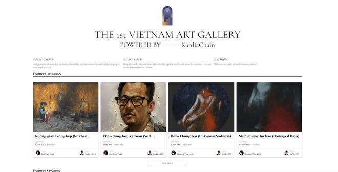 Bắt nhịp với thế giới, sàn giao dịch nghệ thuật Việt đầu tiên trên công nghệ NFT ra đời - Ảnh 1.