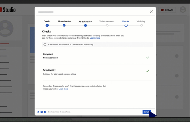 YouTube cập nhật tính năng giúp cảnh báo video vi phạm bản quyền trước khi được đăng tải - Ảnh 2.