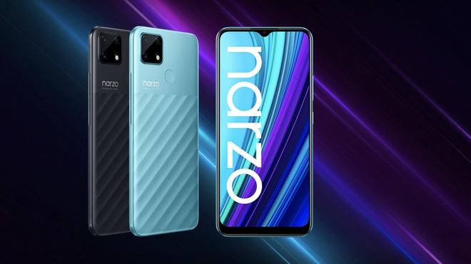 Realme Narzo 30A ra mắt tại VN: Thiết kế đẹp, pin 6000mAh, giá 3.99 triệu đồng - Ảnh 1.