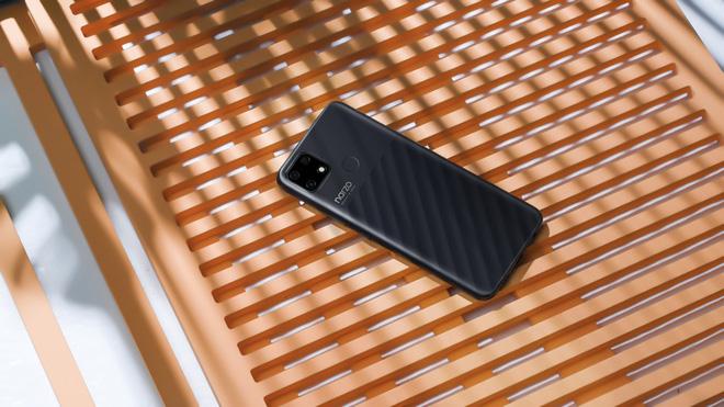 Realme Narzo 30A ra mắt tại VN: Thiết kế đẹp, pin 6000mAh, giá 3.99 triệu đồng - Ảnh 2.