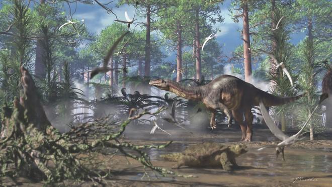 Biến đổi khí hậu đã giúp một số loài khủng long di cư đến Greenland - Ảnh 2.