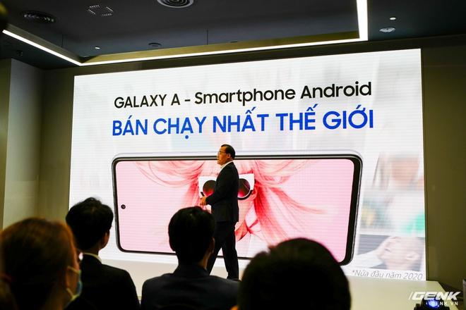 Bộ đôi Samsung Galaxy A52 và A72 chính thức ra mắt tại Việt Nam: Thiết kế trẻ trung năng động, camera nhiều tính năng cho GenZ sáng tạo, pin quẩy 2 ngày mới cần sạc - Ảnh 1.