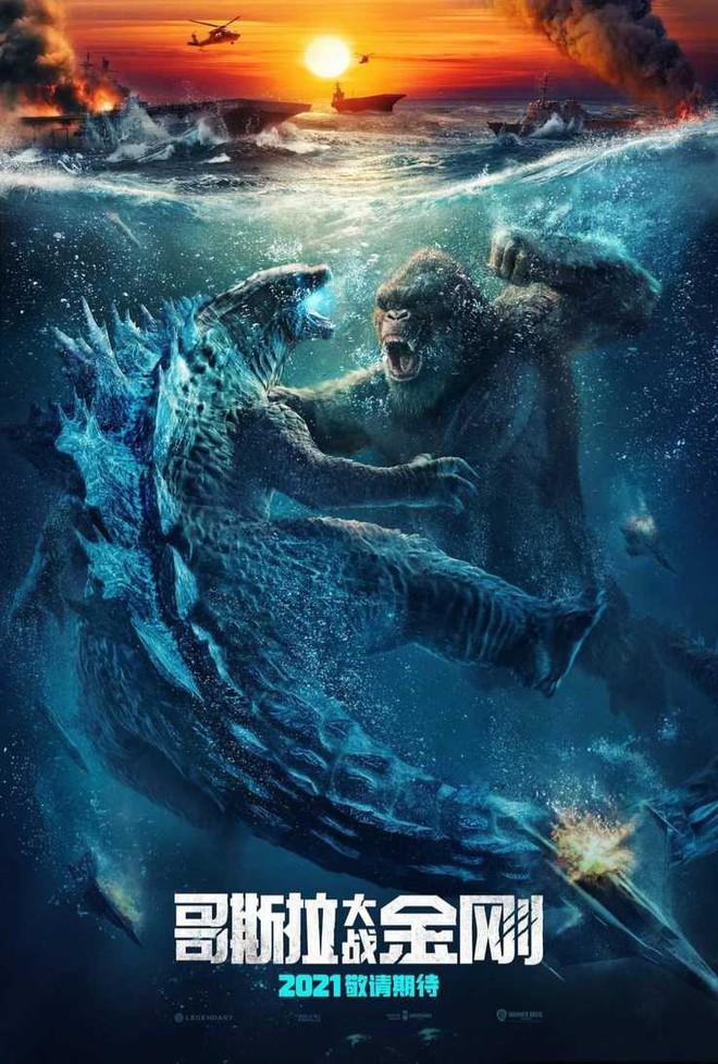 Warner Bros. hé lộ loạt chi tiết mới trong Godzilla vs. Kong: Hết đánh trên bờ lại lôi nhau xuống biển, chắc chắn có kẻ bại trận, không có chuyện giảng hòa - Ảnh 2.