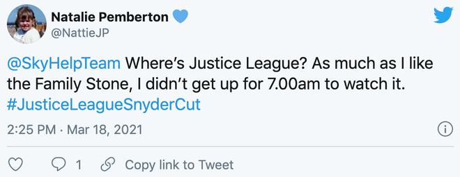 """Góc cụt hứng: Fan hí hửng dậy sớm để xem Justice League, nhưng nhà đài lại """"chiếu nhầm"""" phim tình cảm - Ảnh 2."""