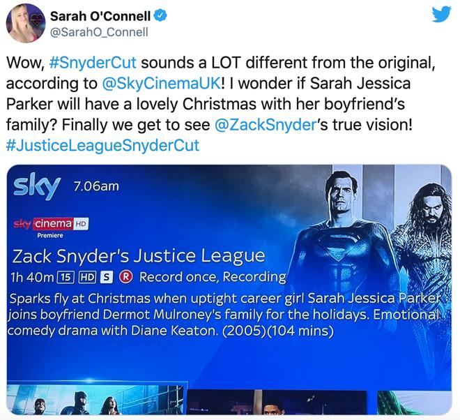 """Góc cụt hứng: Fan hí hửng dậy sớm để xem Justice League, nhưng nhà đài lại """"chiếu nhầm"""" phim tình cảm - Ảnh 3."""